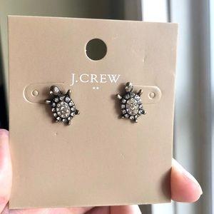 JCrew Turtle Studs Earrings